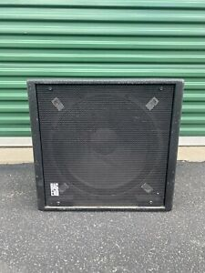 """Bag End PS18E-R Powered Subwoofer, 500W Continuous, 18"""", RO-TEX Finish"""