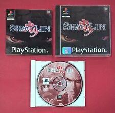 Shaolin - PSX - PS1 - PLAYSTATION - USADO - MUY BUEN ESTADO