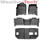 WeatherTech FloorLiner - GMC Yukon XL w/ Bench Seats - Full Set-2007-2010-Black