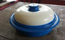 Range Mate Multi Cooker Microwave Steamer Grill Blue