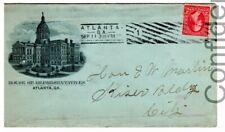 1899 Atlanta Georgia Local Use Cover House of Representatives Barry Cancel