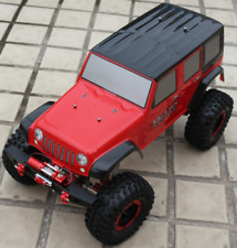 1:10 Scale Crawler RC Model Car SCX10 Shell  Carbon Fibre CNC Frame OP Kit