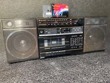 Vintage Fisher Stereo High Fidelity System AC/DC PH-400 TEAC Detachable Speakers