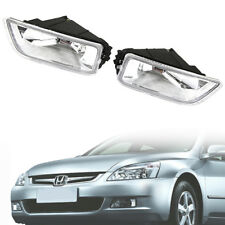 H11 Bulb Fog Light car lights Black For Honda Accord Acura TL JDM 4 Drs 03-07