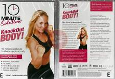 10 Minute Solution KNOCKOUT BODY WORKOUT abs New DVD (Region 4 Australia)