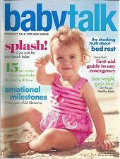 Babytalk June July 2005 5 Ways to Get Through Labor/Emotional Milestones/Bed Res