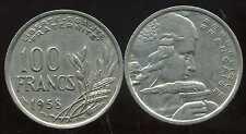 100 francs  1958   cochet  TTB++