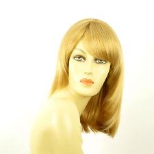 Perruque femme mi-longue blond clair doré ODELIA LG26