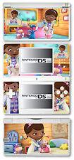 Disney Doc McStuffins Vinyl Skin Sticker for Nintendo DS Lite