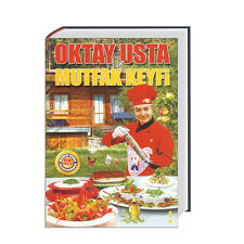 Oktay Usta ile Mutfak Keyfi (Büyük Boy / Tamamen Renkli) Turk yemek kitabi