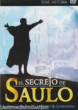 El Secreto De Saulo DVD NEW Serie Historia LA BIBLIA Brand New SEALED