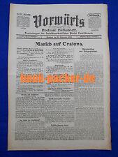Avanti (21. novembre 1916): marcia su Craiova