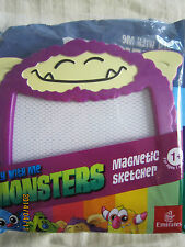 Fly with Me Monsters Magnetic Sketcher (1 year old & above) 1 pcs