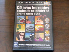 Pc game cd-gta exclusive unpublished and codes of grand theft auto-vice city ps2