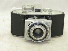 Agfa Karat 4.5 35mm w/ 5.5cm f5.5 Oppar lens & 2 Rapid Film Cassettes c.1939-41