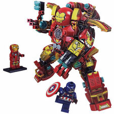 Iron Man Mk46 Hulkbuster with Captain America Lego Compatible Marvel Brick