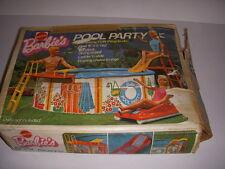 Vintage 1974 Mattel, Barbie's Pool Party Set With Original Box #7795!