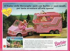 Pubblicità Advertising 1994 MATTEL Barbie Trailer