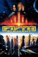 POSTER IL QUINTO ELEMENTO THE FIFTH ELEMENT BRUCE WILLIS MILLA JOVOVICH FILM #2