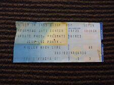 Jean-Luc Ponty Oct 24 1983 Used Concert Ticket Stub