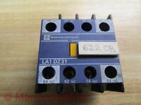 TELEMECANIQUE CR1-FK-33 CONTACTOR AUXILLARY CONTACT BLOCK LA1-F-311 GUARANTEED