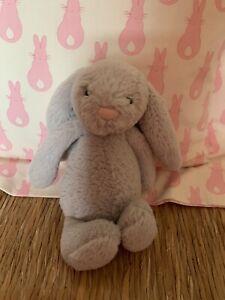 Jellycat Bashful Bunny Teddy Grey