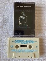 DIONNE WARWICK 20 GREATEST HITS CASSETTE TAPE (TESTED, WORKS AMAZING!) ~ D20
