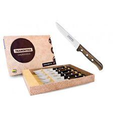 "TRAMONTINA"" GAUCHO"" STEAK KNIFE SET  TRAS0072"