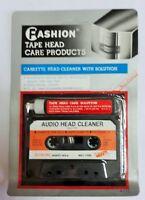 Cinta cassette limpiadora con líquido de limpieza para walmans, cassetes etc.