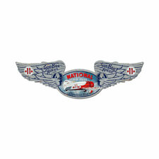 Vintage Style Metal Sign Aviation National Air Races 10 x 35