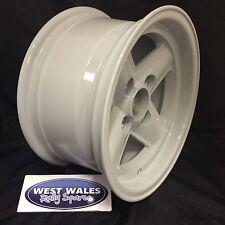 Revolution 4 Spoke - Ford Group4 Escort - 7x13 Rally Alloy Wheel - White