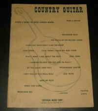 VINTAGE: 1963 COUNTRY GUITAR Song Book - Simple to Advanced by Criterion - GD+