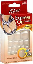 KISS Express On Toenails 24 ea (Pack of 8)