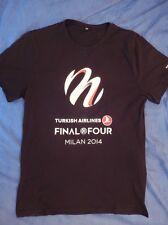 T-Shirt Euroleague Final Four 4 Milan 2014 Milano Eurolega Basket Fiba