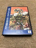 SEGA MEGA DRIVE GAME THE OOZE Complete AUS Release Ozisoft VGC