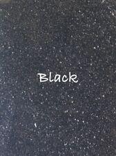 10g Black Glitter Dust. Bath Bombs. Soap. Cosmetics. Nails. Crafts.