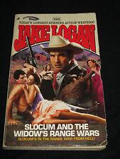 wmf JAKE LOGAN ~ SLOCUM AND THE WIDOW`S RANGE WARS