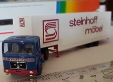 ALBEDO OLD TIME TRUCK CAMION SEMI TRAILER MAN STEINHOFF MÖBEL SCALE 1:87 HO OVP
