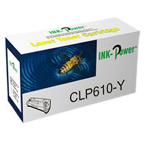 Yellow Compatible Toner Cartridge For Samsung CLP-610 CLP-660 CLX-6?200