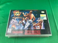 Fatal Fury Special CUT OUT BOX ONLY! (Super Nintendo) SNES NO GAME