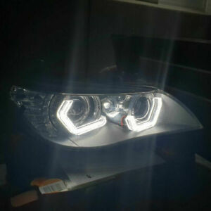 Halo Ring Angel Eyes White Lamp DRL For BMW E60 F10 F30 F32 Z4 2 3 4 5 6 Series