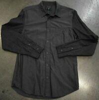 Guess Long Sleeve Mens Button Down Shirt Gray Size: M EUC