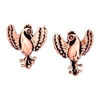 Chrysalis Charmed 14K Rose Gold-Flashed Brass Phoenix Stud Earrings