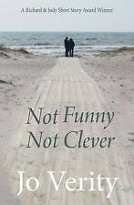 Good, Not Funny Not Clever, Jo Verity, Book