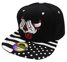 Snapback Cap USA Cappuccio Basecap Berretto Hip Hop COOL Trucker BULL Style VISIERA