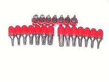 21pc TAMPER TORX  STAR SECURITY TORQUE SCREW DRIVER BIT SET DRILL