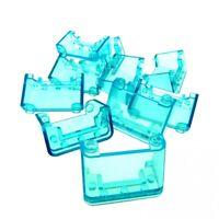 10 x Lego System Windschutzscheibe transparent hell blau 2x4x2 Auto windscreen C