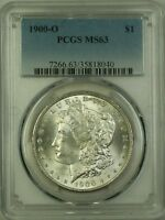 1900-O Morgan Silver Dollar $1 Coin PCGS MS-63 (Better Coin) (10D)