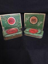 Lucky Strike Tobacco Tin Lot