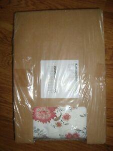 IKEA EKTORP Slipcover for Footstool Videslund Floral Multicolor 003.046.81 - NEW